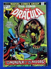TOMB OF DRACULA #6 COMIC BOOK ~ 1973 MARVEL BRONZE AGE ~ FN