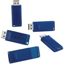 VERBATIM AMERICAS LLC 99810 16GB USB FLASH DRIVE-5PK-BLUE