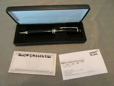 Classic MONT BLANC Meisterstuck Germany Black Ball Point Ink Pen w Orig Box