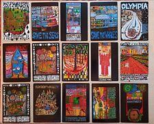 15 carte postale Hundertwasser