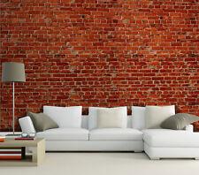 Fototapete Steine Klinker Nr.240 Größe 400x280cm rote Ziegelstein Mauer Tapete