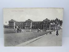 *VINTAGE GALLE FACE,COLOMBO POSTCARD-THE COLOMBO APOTHCARIES CO LTD *