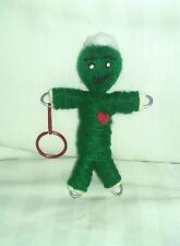 Poppet Wealth Prosperity Money spell guide herb infused key chain voodoo doll