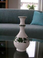 Meissen Flaschenvase Kragenvase Bottle Collar Neck Vase Weinlaub Vine Leaves