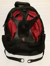 Swiss Army Gear Backpack Business Travel Hiking Bag Black Airflow Multi Layers