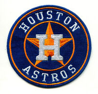 "⚾3.5"" HOUSTON ASTROS Logo Iron-on Baseball Jersey PATCH-World Series Champions!"