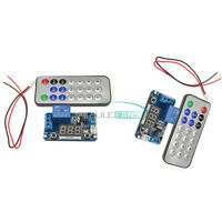 5/12V Infrared Remote Control Timer Delay Relay LED Tube Display Module TOP