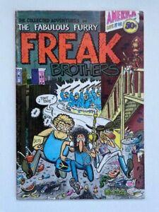 Fabulous Furry Freak Brothers 1 1st Printing 8.0 VF Rare High Grade Underground
