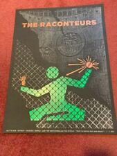 Jack White Raconteurs - Masonic Temple Detroit, MI July 13, 2019 Concert Poster