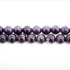 Amethyst Round Beads 6mm Purple 60+ Pcs Gemstones DIY Jewellery Making Crafts