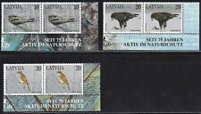 Latvia BIRDS 1997, Edge pair, Mi.Nr. 447 - 449. Full set. MNH