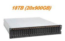 """Iva IBM 6099s2c Storwize V3700 18tb (20x900gb) SAS 2 5"""" 10k RPM"""
