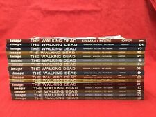 Lot of The Walking Dead Comic Paperback Volume 1-16