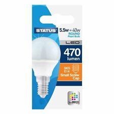 4 x 5.5W del perle SES E14 ROND AMPOULE équivalent 40W Lampe état 34122x4