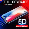 5D Full Cover Tempered Glass Screen Protector For Apple iPhone X 8 7 6s Plus 5 4