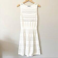 LAUREN Ralph Lauren Crochet Knit Open Knit Stretch Dress Size Medium
