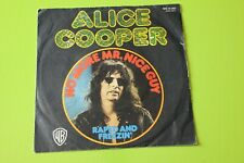 """ALICE COOPER 7"""" NO MORE   SOLO COPERTINA ONLY SLEEVE NOT"""