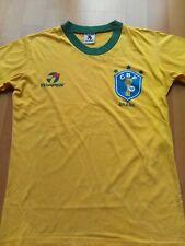 Vintage BRAZIL BRASIL / TOPPER Shirt 1982-85 Shirt 100% Authentic Medium MINT