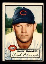 HANK EDWARDS  52 TOPPS 1952 NO 176 VGEX+  20207