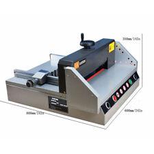 Precision Desktop Electric Paper Cutting Machine Cutter Trimmer Guillotine110v