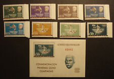 Paraguay 1963: Sport-Olympiade -Coubertin MN 1160 -67 + Bl. 34 postfrisch MNH