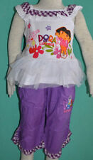 Dora the Explorer Polyester Outfits & Sets for Girls