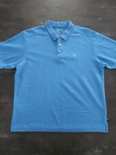 Mens LG Tommy Bahama Emfielder Supima S/S Polo Shirt Golf Lime Green Marlin Logo