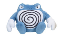 Pokemon Center Original Limited Plush Doll Pokemon fit Poliwrath JAPAN IMPORT