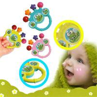 0-12M Newborn Cute Rattles Shaking Dumbells Toys Early Intelligence Development