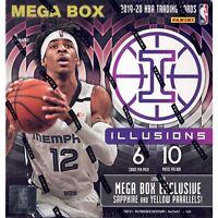 x1 2019-20 Panini Illusions Basketball NBA Mega Box NEW IN HAND FREE SHIPPING