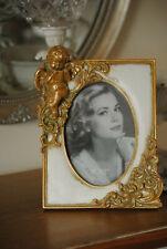 Rokoko Barock Bilderrahmen Fotorahmen Oval Rahmen Farbe Gold 10x15 Stil Antik