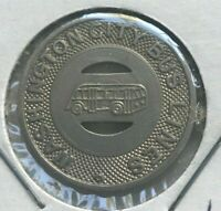 Washington Pennsylvania PA Washington City Bus Lines Transportation Token