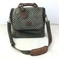 Diane Von Furstenberg DVF Bag Luggage Cosmetic Toiletries Travel Vintage Strap