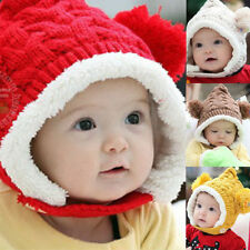 Boys' Fleece Knitted Baby Caps & Hats