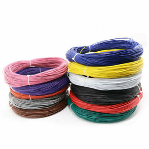 Stranded UL1007 Cable 80°C 300V PVC Electric Equipment Wire 16/18/20/22-30AWG