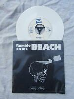 RUMBLE ON THE BEACH EP SILLY BILLY AMSTERDAM white vinyl weser 2406 p/s N/M