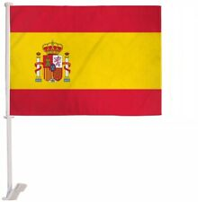 "12x18 Spain Spanish Car Window Vehicle 12""x18"" Flag"