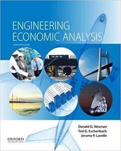 Engineering Economic Analysis 13th Edition