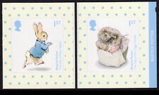 2016 BEATRIX POTTER - SELF ADHESIVE Single Stamps from Booklet SG 3862, 3863