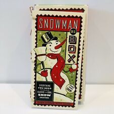 Snowman in a Box Kit for Snow or Sand