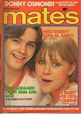 Mates Magazine 24 July 1976     Donny Osmond    Rambler    Rod Stewart    Buster