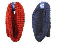 Bufandas y pañuelos de mujer de acrílico color principal azul