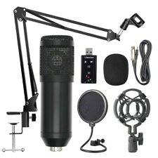 BM800 Professional Microphone Kit Set Studio Live Stream Broadcasting Recording