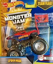 Hot Wheels MONSTER JAM SPIDER-MAN SUPERHEROES (Con aseccorio) Import.USA