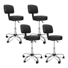 4X Hydraulic Salon Adjustable Stool Massage Facial Spa Chair W/Back Cushion