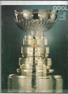 April 7, 1977 Los Angeles Kings vs Atlanta Flames Hockey Goal Program VG