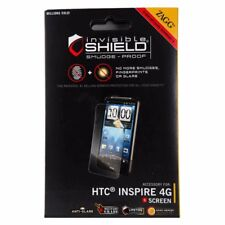 NEW Zagg invisibleSHIELD Screen Protector for HTC Inspire 4G(New Package)