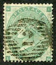 SG90 1/- Green Fine used Cat 300 Pounds