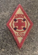 VINTAGE BOY SCOUT 1930's JUNIOR LSS RED CROSS PATCH