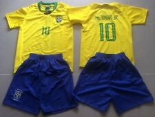 ensemble football + short enfants jaune   no 10